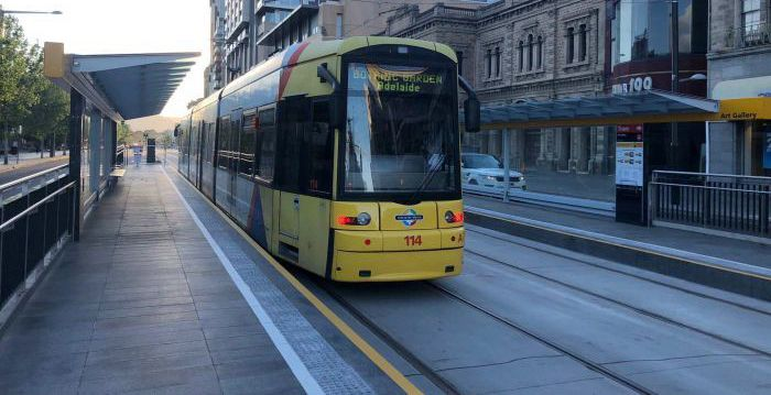North Terrace Tram line Upgrade